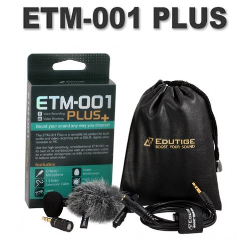 ETM-001 플러스 (3극 증폭마이크)