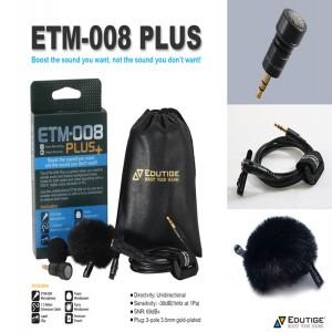 ETM-008 플러스 (3극 단일지향성마이크)