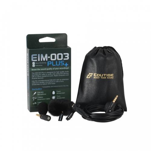 EIM-003 플러스 (음악 모니터링/팟캐스팅 마이크)